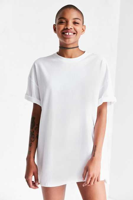 Silence + Noise Tower Tunic Tee