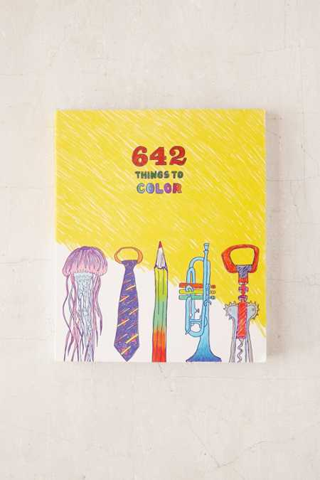 642 Things To Color By Chronicle Books