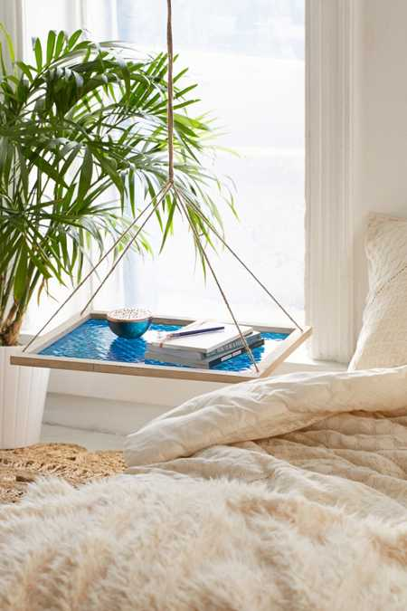 Shiam Pressed Glass Floating Shelf