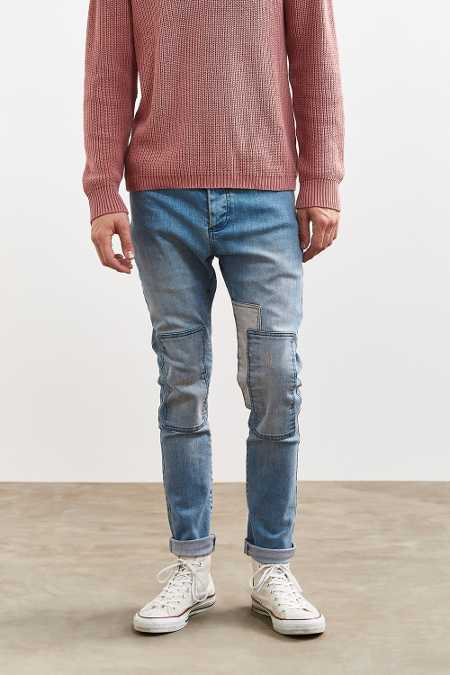 Barney Cools B. Cause Patchwork Slim Jean