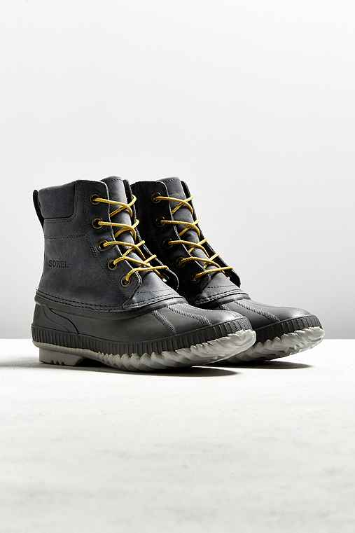 Sorel Waterproof Duck Boot,GREY,9.5