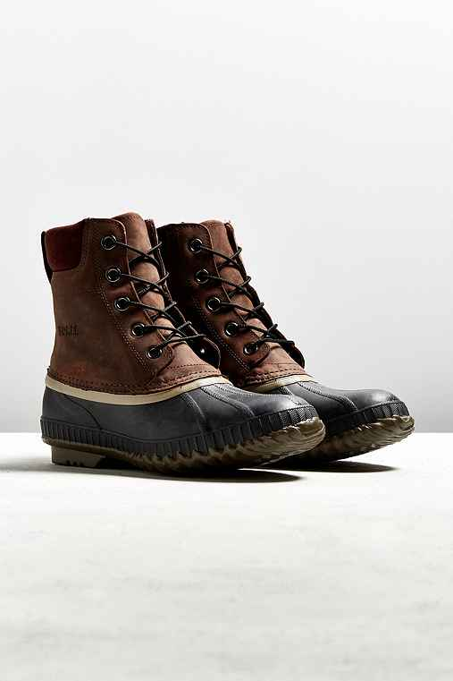 Sorel Cheyanne Duck Boot,BROWN,8