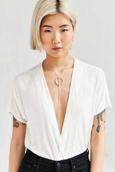 Jenny Bird Rhine Lariat Necklace
