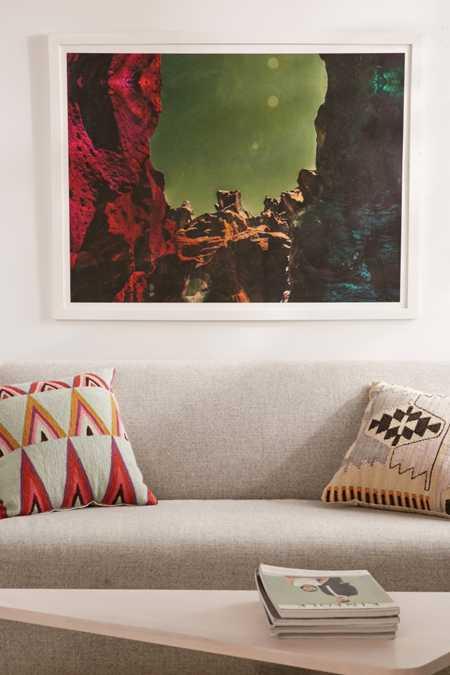 Alexandra Valenti Fossil Falls Art Print