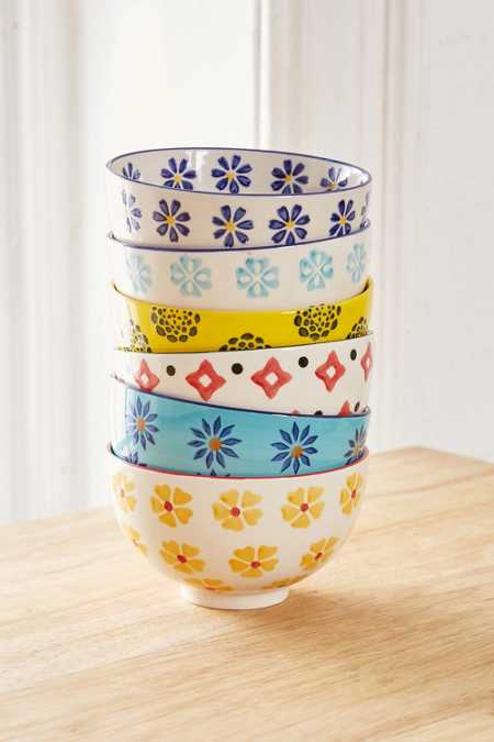Mix + Match Printed Bowls Set