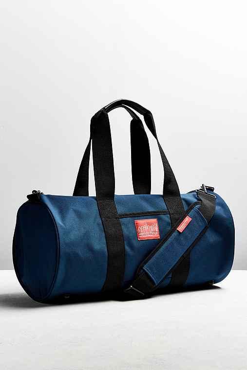 Manhattan Portage Drum Duffle Bag,NAVY,ONE SIZE