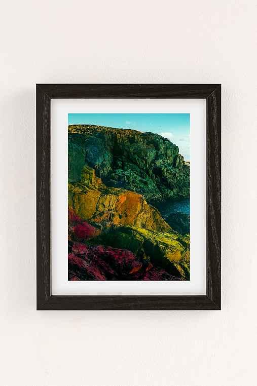Alexandra Valenti Fuerteventura Art Print,BLACK WOOD FRAME,30X40
