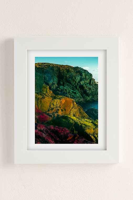 Alexandra Valenti Fuerteventura Art Print,WHITE MATTE FRAME,8X10