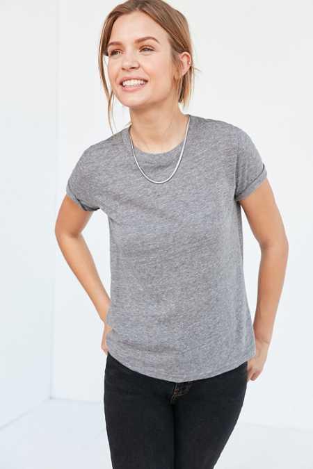 Women's Chicago Bears Pro Line Gray Philips Henley 3/4-Sleeve T-Shirt