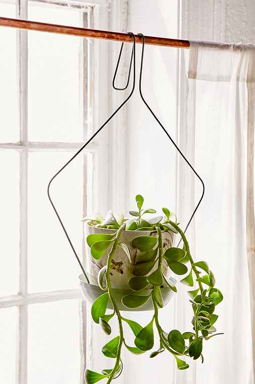 Large Freya Plant Hanger,GREEN,ONE SIZE