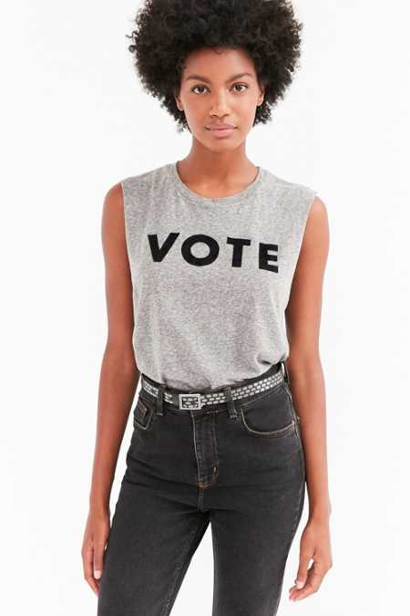Truly Madly Deeply Vote Muscle Tee