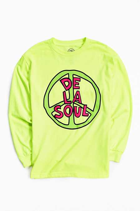 De La Soul Peace Sign Long-Sleeve Tee