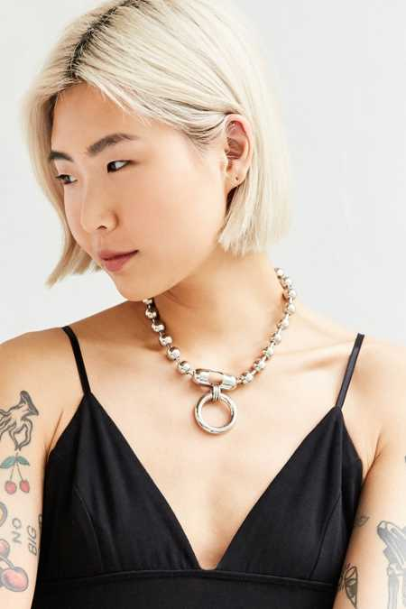 We Who Prey Large Meridian Choker Necklace
