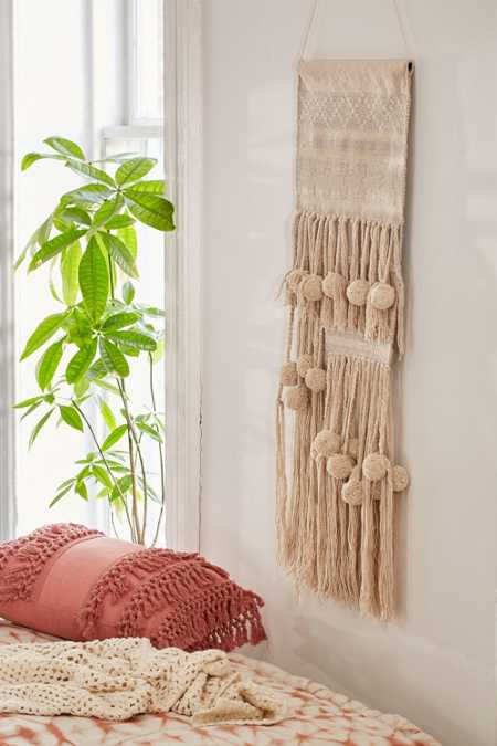 Polly Pom-Pom Wall Hanging