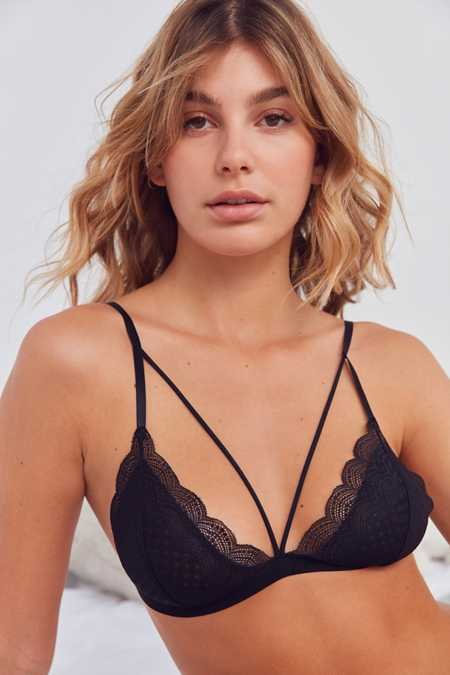 Out From Under Ari Strappy Front Triangle Bra