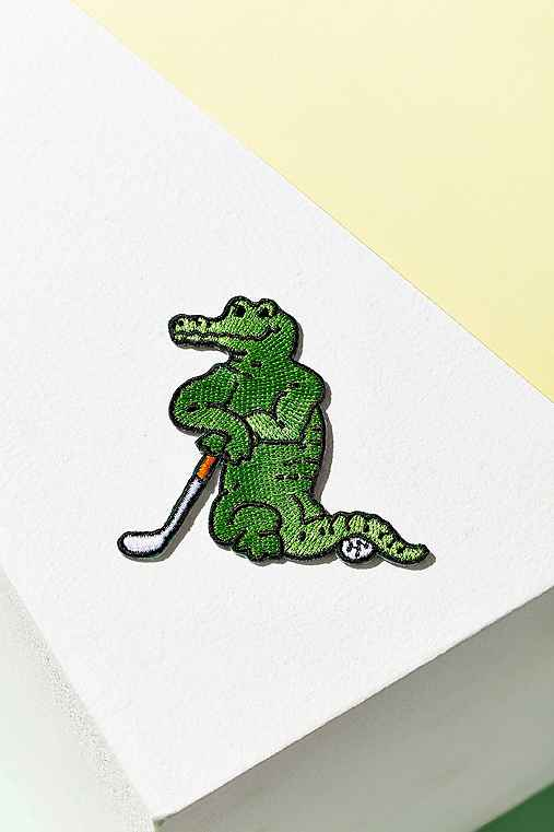 UO Souvenir Miami Gator Patch,GREEN,ONE SIZE