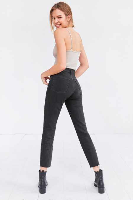 Levi's Wedgie High-Rise Jean - Midnight Rain