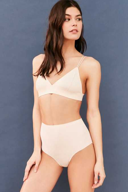 Out From Under Laser-Cut High-Waisted Panty