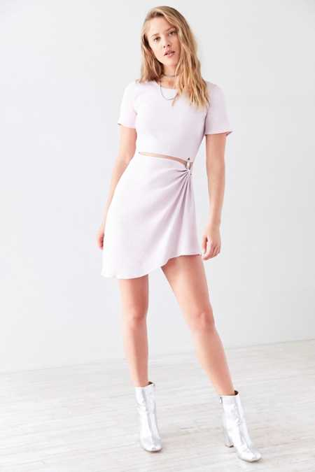 Stylestalker Thea Slash-Waist Mini Dress