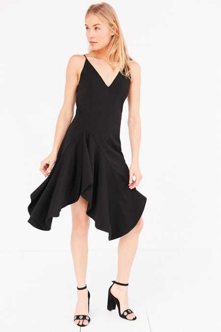 C/meo Collective Spelt Out Ruffle Mini Dress