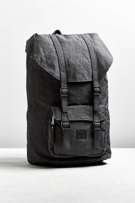 Herschel Supply Co. Wrinkled Nylon Little America Backpack