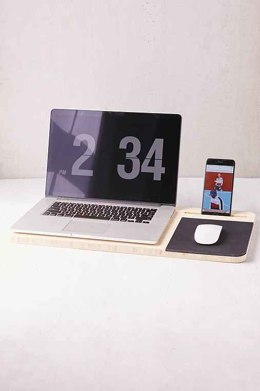 Mobile Slate LapDesk,WOOD,ONE SIZE