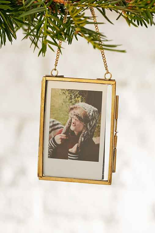 Instax Glass Ornament,GOLD,ONE SIZE