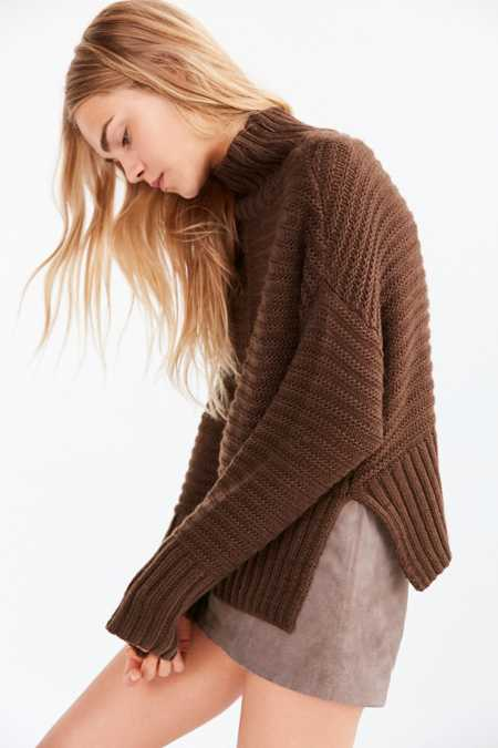 Silence + Noise Annie Turtleneck Sweater