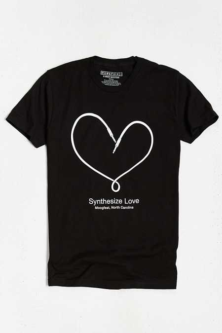 Moogfest 2016 Synthesize Love Tee