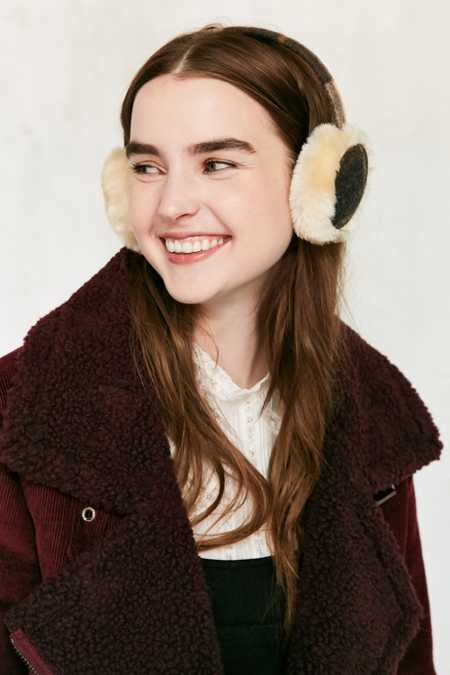 Woolrich Plaid Flannel Ear Muff