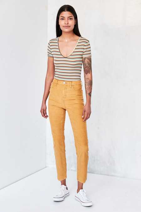 BDG Girlfriend Corduroy High-Rise Pant