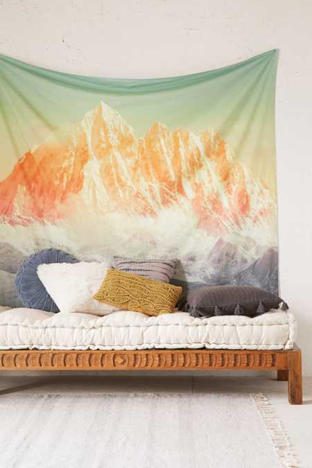 Glacial Mountain Tapestry