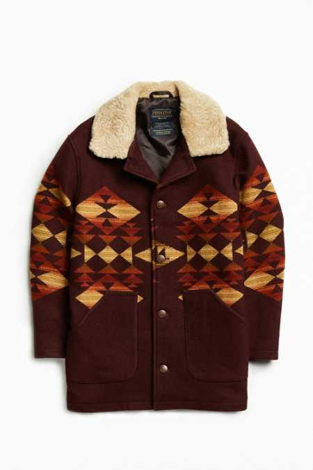 Pendleton Brownsville Shearling Car Coat