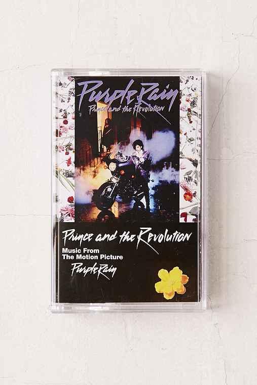 Prince - Purple Rain Cassette Tape,PURPLE,ONE SIZE