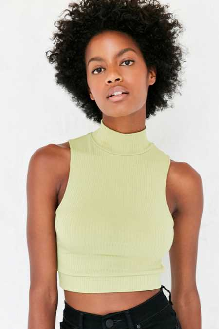Silence + Noise Evita Mock Neck Tank Top