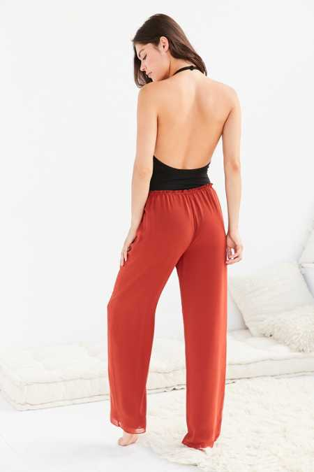 Out From Under Double Layer Chiffon Lounge Pant