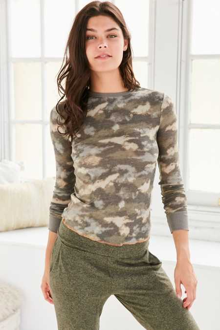 Out From Under Anna Thermal Long Sleeve Top