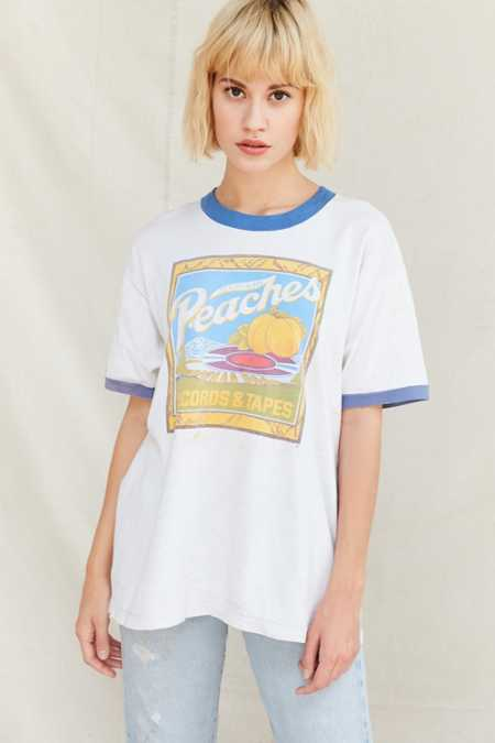 Vintage Peaches Records Tee