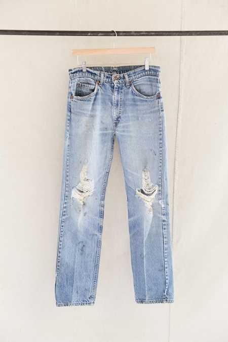 Vintage Levi's 505 Orange Tab Distressed Jean