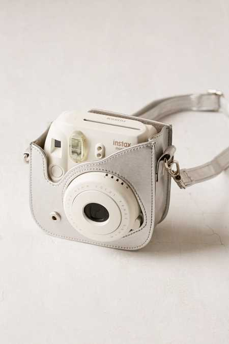Fujifilm Instax Mini 8 Metallic Silver Camera Case