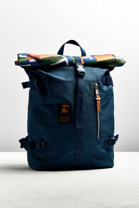 Poler X Pendleton Roll Top Backpack