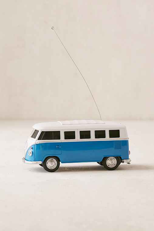 Remote Controlled VW Camper Game,BLUE,ONE SIZE