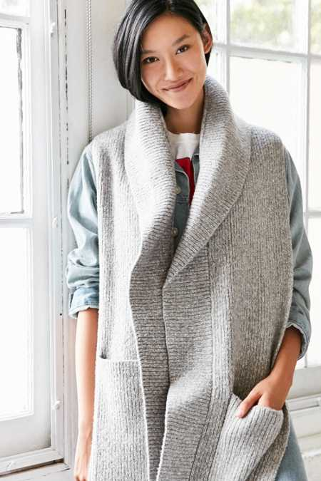 Shawl Collar Scarf