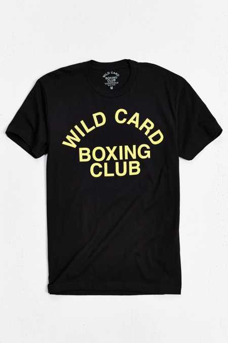 Wild Card Boxing Club Block Letter Tee