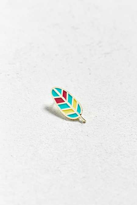 Badge Bomb X Allison Cole Feather Pin