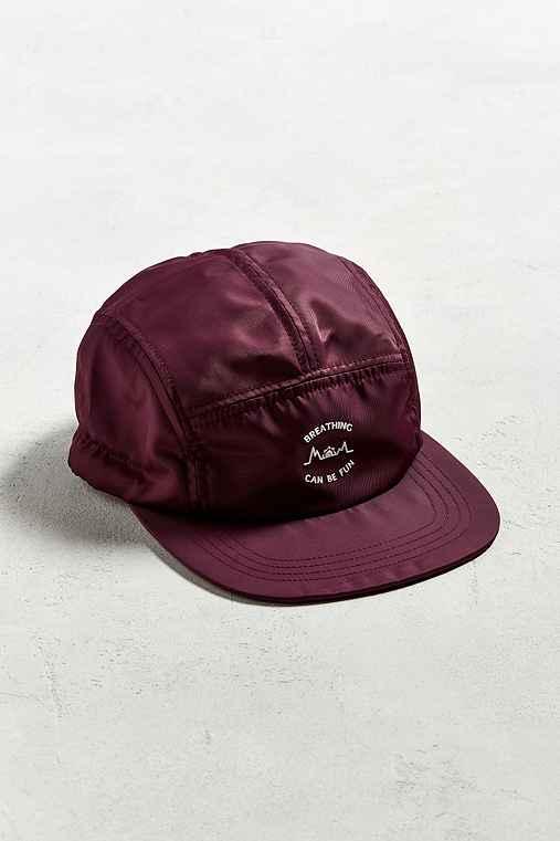 UO Breathing 5-Panel Hat,PURPLE,ONE SIZE