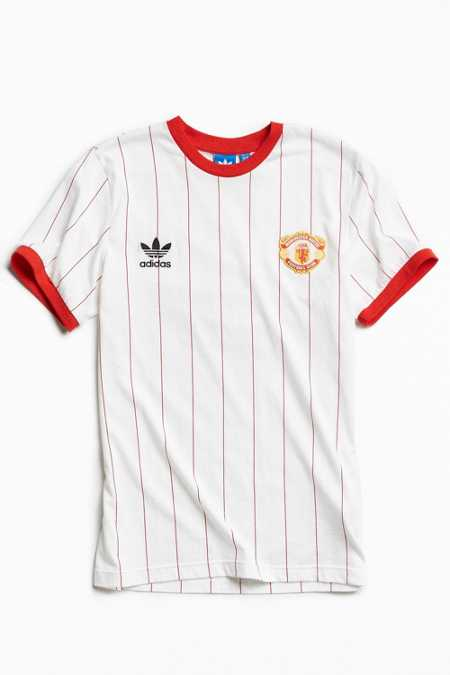 adidas Manchester United Pinstripe Jersey