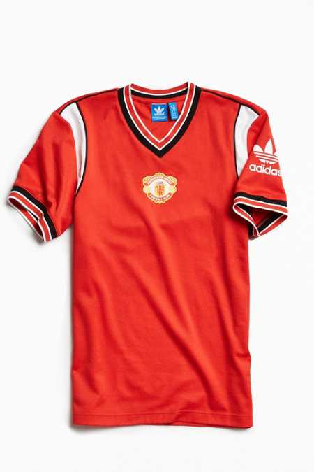 adidas Manchester United Home Jersey Tee