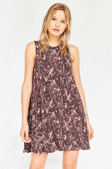 Silence + Noise Cobra Print Tee Dress