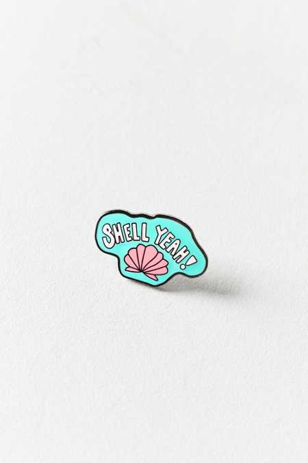 Annie Free X UO Shell Yeah Pin